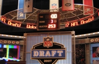 NFL Draft Display